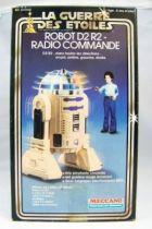 Star Wars (La Guerre des Etoiles) 1978 - Meccano - Radio Controlled R2-D2 (loose with box)