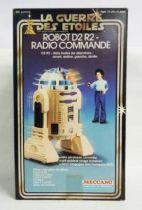 Star Wars (La Guerre des Etoiles) 1978 - Meccano - Radio Controlled R2-D2 (mint in box)
