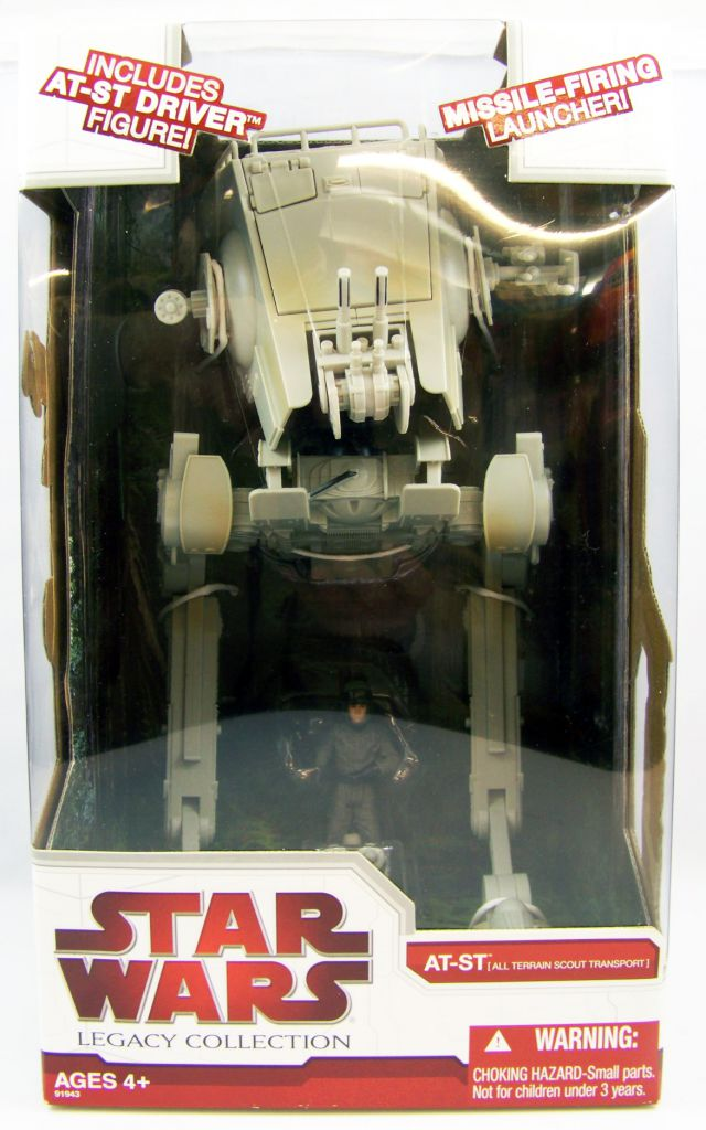 Star Wars (Legacy Collection) - Hasbro - AS-ST (includes AT-ST Driver figure)