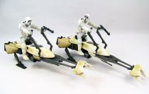 Star Wars (Legacy Collection) - Hasbro - Battle Packs : Hoth Speeder Bike Patrol (loose)