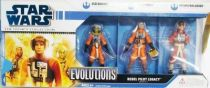 Star Wars (Legacy Collection) - Hasbro - Evolutions: Rebel Pilot Legacy