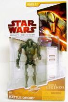Star Wars (Legacy Collection) - Hasbro - Super Battle Droid #SL05