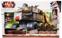 Star Wars (Legacy Collection) - Hasbro - Turbo Tank (with Tank Gunner & Speeder Bike)