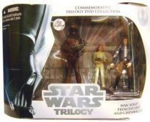 Star Wars (Original Trilogy Collection) - Hasbro - Han Solo, Princess Leia & Chewbacca (Commemorative Trilogy DVD Collection)