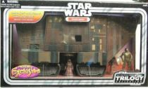 Star Wars (Original Trilogy Collection) - Hasbro -SandCrawler with Jawas & RA-7 Droid
