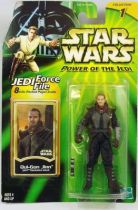Star Wars (Power of the Jedi) - Hasbro - Qui-Gon Jinn (Jedi Training Gear)