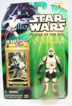 Star Wars (Power of the Jedi) - Hasbro - Scout Trooper (Imperial Patrol)