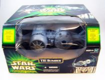 Star Wars (Power of the Jedi) - Hasbro - TIE Bomber (incudes Imperial Pilot)