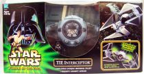Star Wars (Power of the Jedi) - Hasbro - TIE Interceptor with Pilot