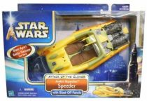 Star Wars (Saga Collection) - Hasbro - Anakin Skywalker Speeder with Blast-Off Panels