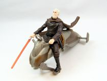 Star Wars (Saga Collection) - Hasbro - Darth Tyranus\'s Geonosian Speeder Bike (loose)