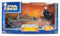 Star Wars (Saga Collection) - Hasbro - Darth Tyranus\'s Geonosian Speeder Bike 01