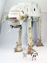 Star Wars (Saga Collection) - Hasbro - Endor AT-AT (with AT-AT Driver & Biker Scout figures) loose