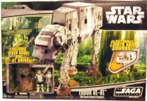Star Wars (Saga Collection) - Hasbro - Endor AT-AT (with AT-AT Driver & Biker Scout figures)