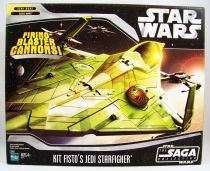 Star Wars (Saga Collection) - Hasbro - Kit Fisto\'s Jedi Starfighter