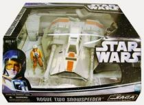 Star Wars (Saga Collection) - Hasbro - Rogue Two Snowspeeder (includes Zev Senesca)