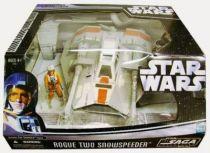 Star Wars (Saga Collection) - Hasbro - Rogue Two Snowspeeder (includes Zev Senesca)