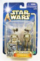 Star Wars (Saga Collection) - Hasbro - SP-4 & JN-66 (Research Droids)
