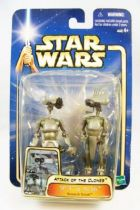 Star Wars (Saga Collection) - Hasbro - SP-4 & JN-66 (Research Droids)