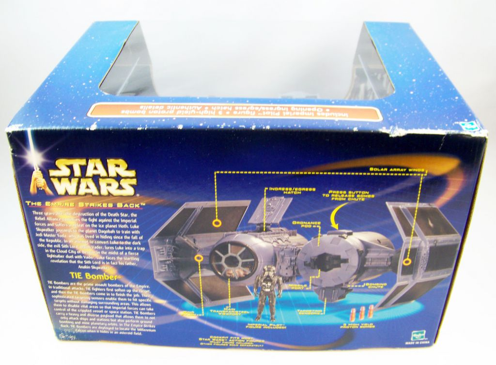 Star Wars (Saga Collection) - Hasbro - TIE Bomber (included Imperial Pilot)
