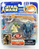 Star Wars (Saga Collection) - Hasbro - Yoda (with Force Powers)