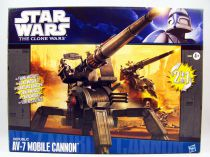 Star Wars (Saga Legends) - Hasbro - AV-7 Mobile Cannon