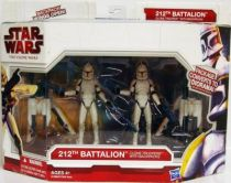Star Wars (The Clone Wars) - Hasbro - 212th Batallion Clone Troopers
