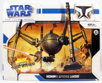 Star Wars (The Clone Wars) - Hasbro - Homing Spider Droid (loose with box)