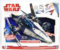 Star Wars (The Clone Wars) - Hasbro - Imperial V-Wing Starfighter