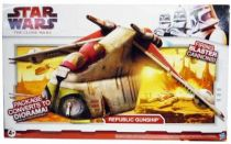 Star Wars (The Clone Wars) - Hasbro - Republic Gunship