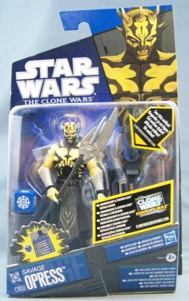 Star Wars (The Clone Wars) - Hasbro - Savage Opress