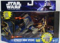Star Wars (The Clone Wars) - Hasbro - Separatist Droid Speeder