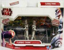 Star Wars (The Clone Wars) - Hasbro - Turbo Tank Support Squad