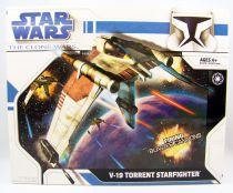 Star Wars (The Clone Wars) - Hasbro - V-19 Torrent Starfighter