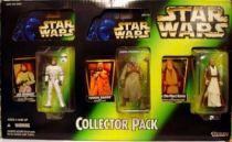 Star Wars (The Power of the Force) - Kenner - 3-pack : Luke Skywalker in Stormtrooper, Tusken Raider & ben (Obi-wan) Kenobi