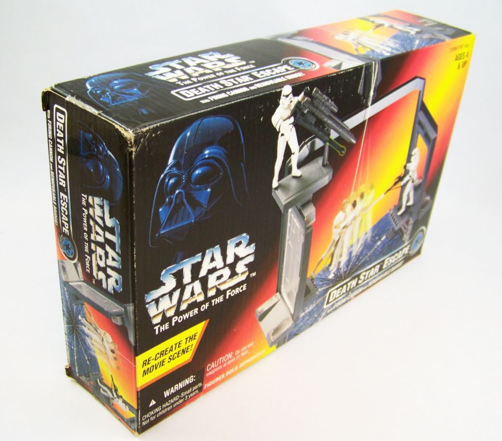 Star Wars (The Power of the Force) - Kenner - Death Star Escape 02