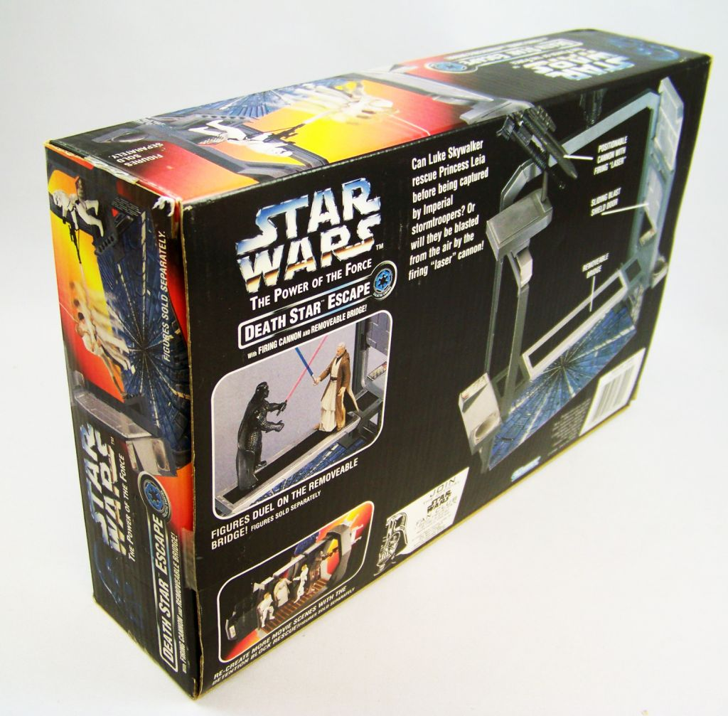 Star Wars (The Power of the Force) - Kenner - Death Star Escape 03