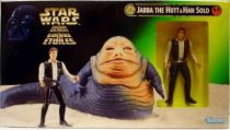 Star Wars (The Power of the Force) - Kenner - Jabba the Hutt & Han Solo