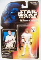 Star Wars (The Power of the Force) - Kenner - Luke Skywalker in Stormtrooper disguise