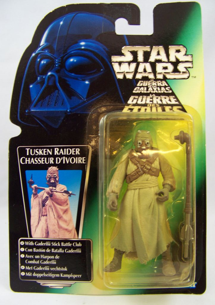 Star Wars (The Power of the Force) - Kenner - Tusken Raider 01
