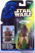 Star Wars (The Power of the Force) - Kenner - Weequay Skiff Guard (French Card)