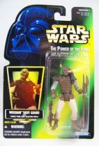 Star Wars (The Power of the Force) - Kenner - Weequay Skiff Guard 01