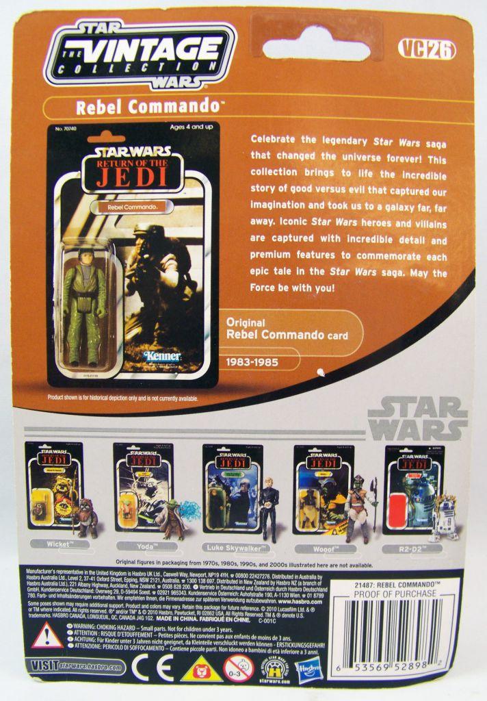 Star Wars (The Vintage Collection) - Hasbro - Rebel Commando - Return of the Jedi