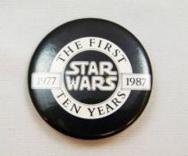 Star Wars 1977- 1987 The First Ten Years - Promotional Badge