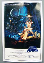 "Star Wars 1977: A New Hope - Movie Poster One Sheet Style B 27""x41\"" (15th Anniversary Poster) 92/22-0 1992"
