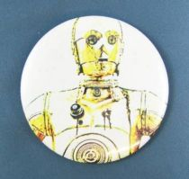 Star Wars 1977 Button -  C-3PO