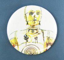 Star Wars 1977 Button -  C-3PO