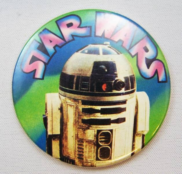 Star Wars 1977 Button - R2-D2