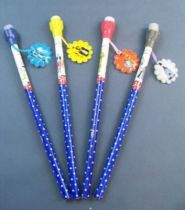 Star Wars 1982 - Lot of 4 H.C. Ford Pencils with Tops