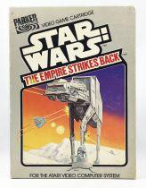 Star Wars 1982 - Parker Video Game (Atari) - The Empire Strikes Back (Complete w/Box)